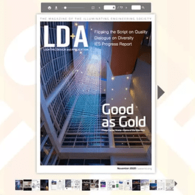 As Seen In…Chase Center Project Cover Story of LD&A